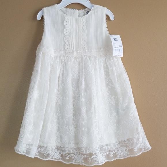 5ff47bcfb12c Oshkosh 🐇spring ivory lace dress 🐣 18 months NWT
